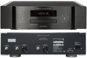 Audio Analogue MAESTRO 192/24 rev 2.0 CD PLayer, black